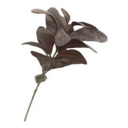 salg af Lilla blad blomst, 35 cm. - kunstige blomster
