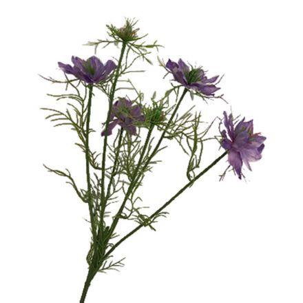 salg af Lilla blomst, 65 cm. - kunstige blomster