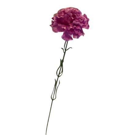 salg af Lilla nellike, 45 cm. - kunstige blomster