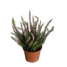 salg af Lyng - lyserød - 25 cm. - kunstige blomster