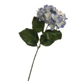 salg af Lys blå hortensia - 80 cm. - kunstige blomster