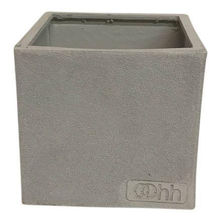 salg af Lys grå skjuler - genbrug - Ø11*H11 cm.