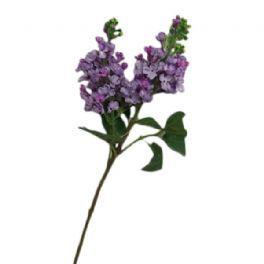 salg af Lys lilla syren, 70 cm. - kunstige blomster