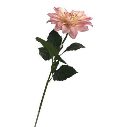 salg af Lyserød dahlia, 65 cm. - kunstige blomster