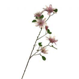 salg af Lyserød Magnolia gren, 85 cm. - kunstige blomster