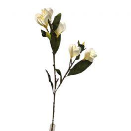 salg af Creme magnolia - 80 cm. - kunstige blomster