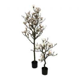 salg af Magnoliatræ, hvid - opstammet - 90 cm. - kunstige træer