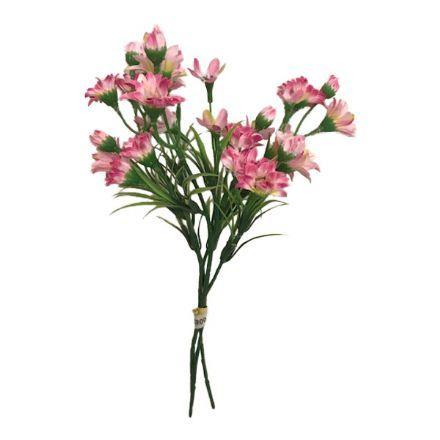 salg af Pink Margurit buket, 30 cm - kunstige blomster