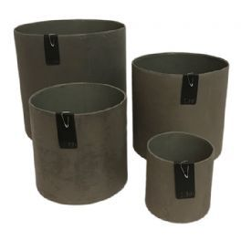 salg af Mat brun skjuler - genbrug - Ø17*H17 cm.