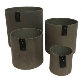salg af Mat brun skjuler - genbrug - Ø7*H7 cm.
