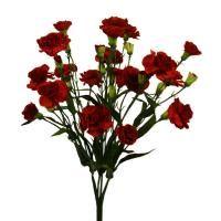 salg af Nellike, 48 cm. - rød  - kunstige blomster