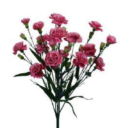 salg af Nellike buket, 48 cm. - pink - kunstige blomster