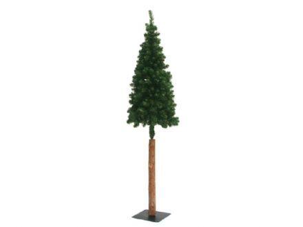 salg af Kunstig juletræ - opstammet - 195 cm. - m/metal plade