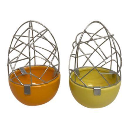 salg af Orange æggestativ - Ø8*H13 cm.