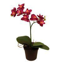 salg af Orkide - 24 cm. - lilla - kunstig plante