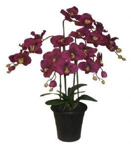 salg af Orkide 4 grenet 68 cm. - kunstig plante