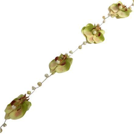 salg af Orkide ranke m/perler, 1 m. - kunstige blomster