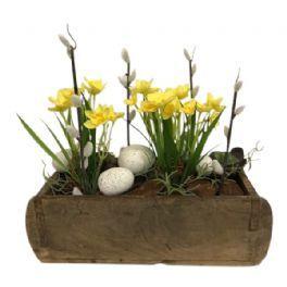 salg af Påskedekoration, 30*30 cm. - kunstige blomster