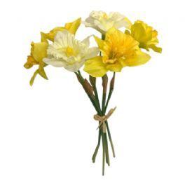 salg af Påskeliljebuket, 34 cm - kunstige blomster