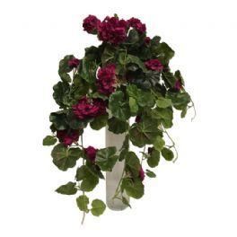 salg af Lilla Pelargonia hænge busk, 60 cm. - kunstige blomster