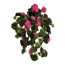 salg af Pink Pelargonia hængebusk, 60 cm. - kunstige blomster
