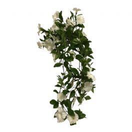 salg af Hvid Petunia hængebusk, 85 cm. - kunstige blomster