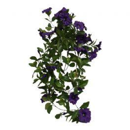 salg af Lilla Petunia hængebusk, 85 cm. - kunstige blomster