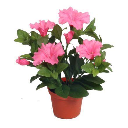 salg af Lyserød Petunia, 25 cm. - kunstige blomster