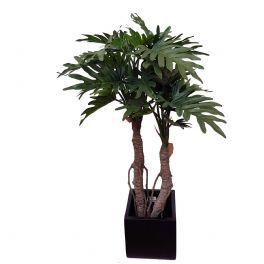 salg af Philodendron sellum 2 stammer - højde 92 cm. - kunstig plante
