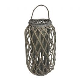 salg af Pileflet lanterne, grå - 50 cm.