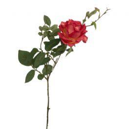 salg af Pink have rose - 75 cm. - kunstige blomster