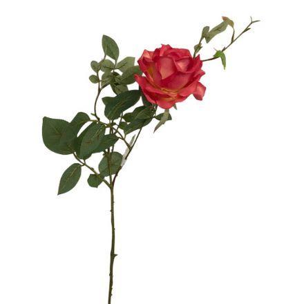 salg af Pink have rose, 75 cm. - kunstige blomster