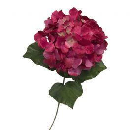 salg af Pink hortensia - 80 cm. - kunstige blomster