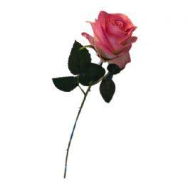 salg af Pink rose, 45 cm. - kunstige blomster