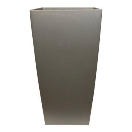salg af Plast krukke, sølv look - 40*75 cm.