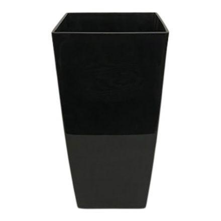 salg af Plast skjuler - Blank sort - Ø14*H26 cm.
