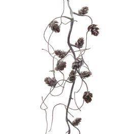 salg af Ranke m/kogler, frostlook - 120 cm. - kunstige ranker