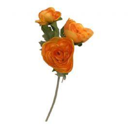salg af Orange ranunkel - 30 cm. - kunstige blomster