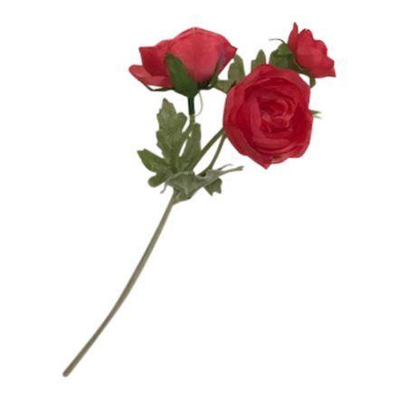 salg af Pink ranunkel, 30 cm. - kunstige blomster