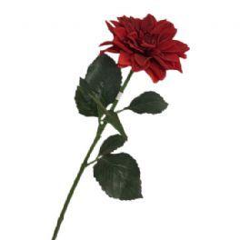 salg af Rød dahlia - 65 cm. - kunstige blomster