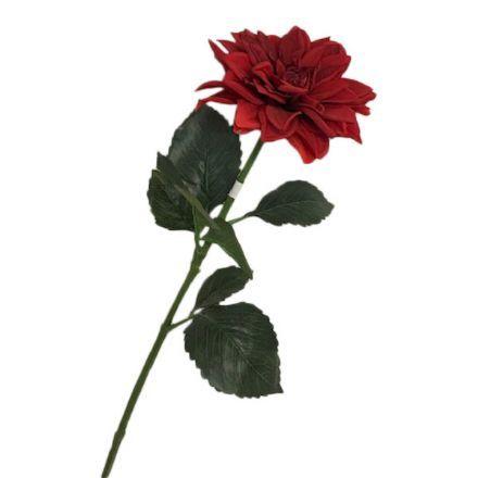salg af Rød dahlia, 65 cm. - kunstige blomster
