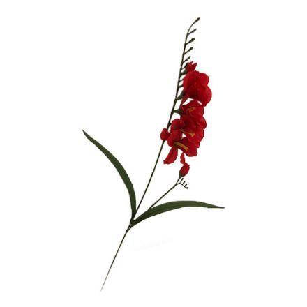 salg af Rød fresia, 50 cm. - kunstige blomster