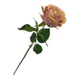 salg af Rosa rose, 50 cm. - kunstige blomster