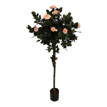 salg af Rose træ opstammet, lyserød - 140 cm. - kunstig træ