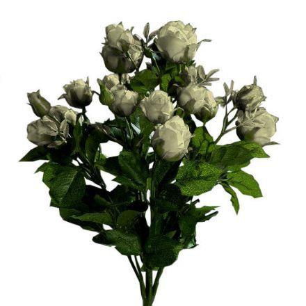 Enorm Rosebuket , hvid 40 cm uden potte - kunstige blomster - Buketter i VW-39