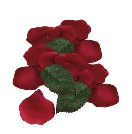 salg af Rosenblade, røde - kunstige blade