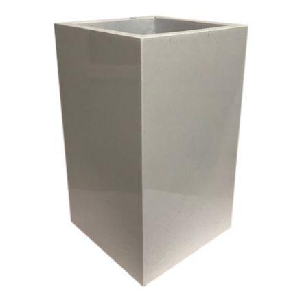 salg af Hvid krukke, 30*30*50 cm.