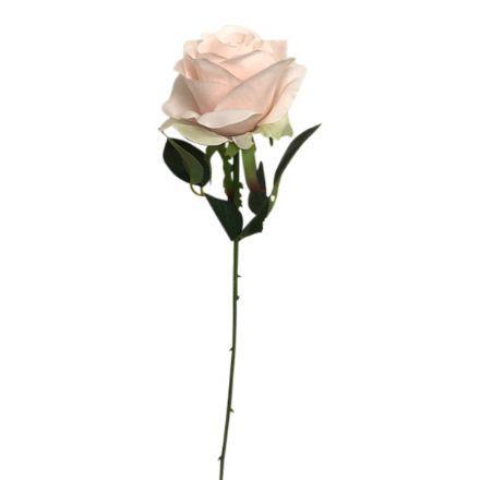 salg af Sart rosa rose, 45 cm. - kunstige blomster