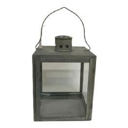 salg af Sink lanterne, H24 cm.
