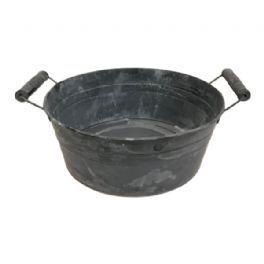 salg af Sink planteskål, 11*32 cm.